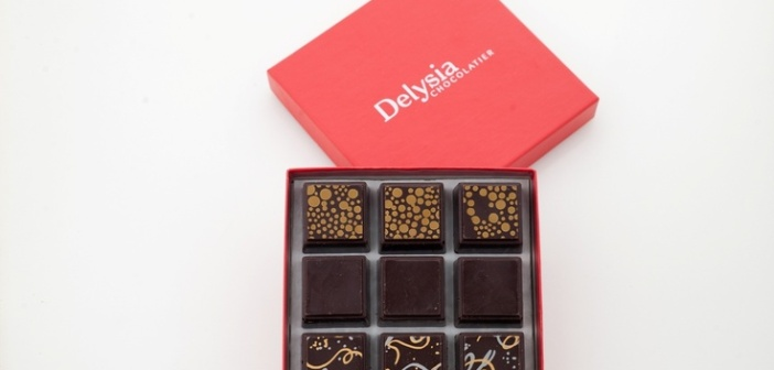Delysia Chocolatier - Beautiful Custom Packaging