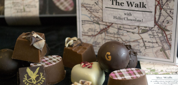 Hello Chocolate - The Walk - Scottish Themed Delights